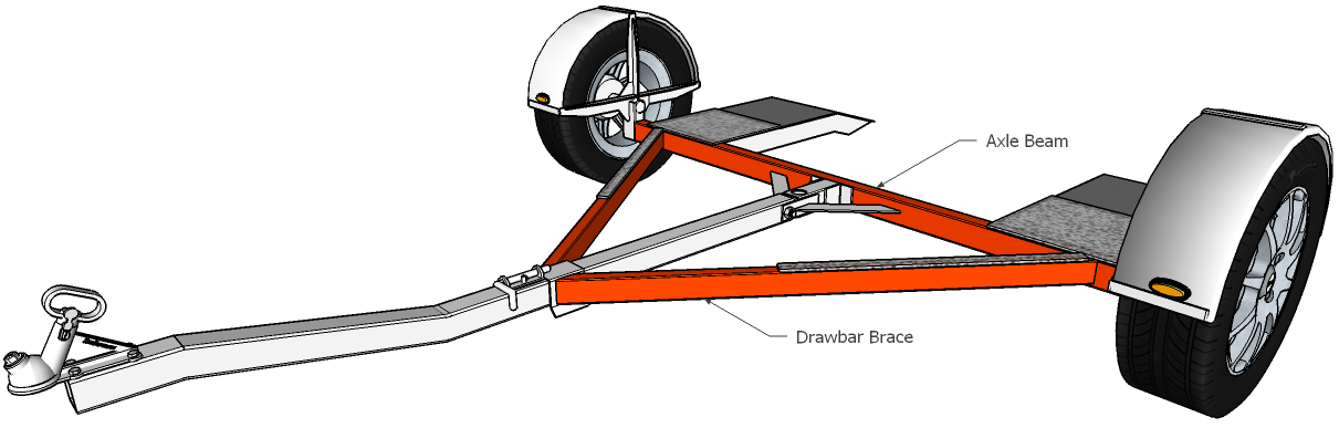 how to build your own car tow dolly