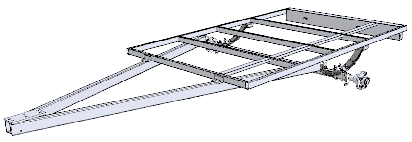 Single Axle Trailer Plans : Trailer sauce draw bar