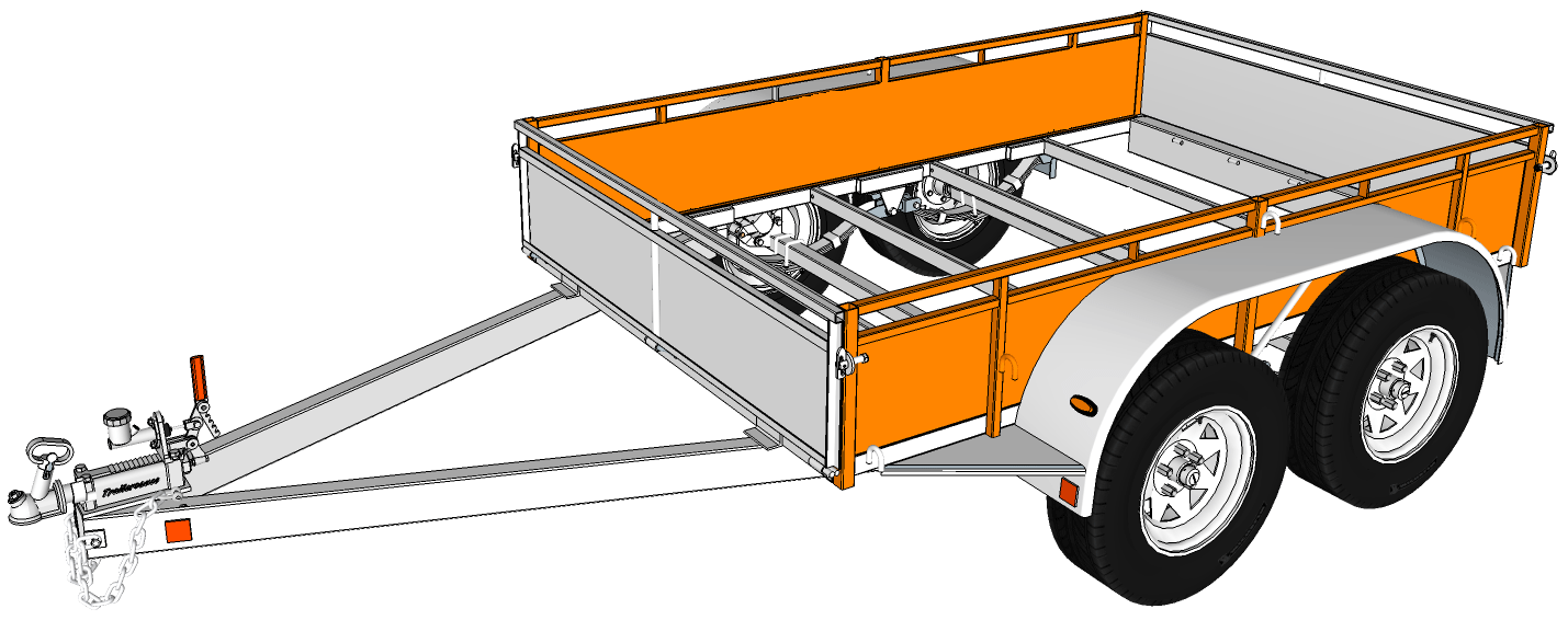 Trailer Sauce Sides Wiring Diagram For Tandem Axle 8 X 5