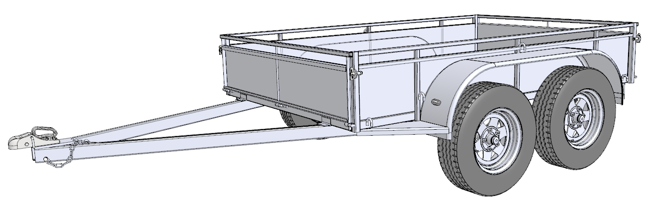 Free Trailer Plans Build Your Own Trailer on wiring schematics