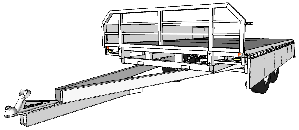 Flat Deck Trailer Plans Amp Building Instructions