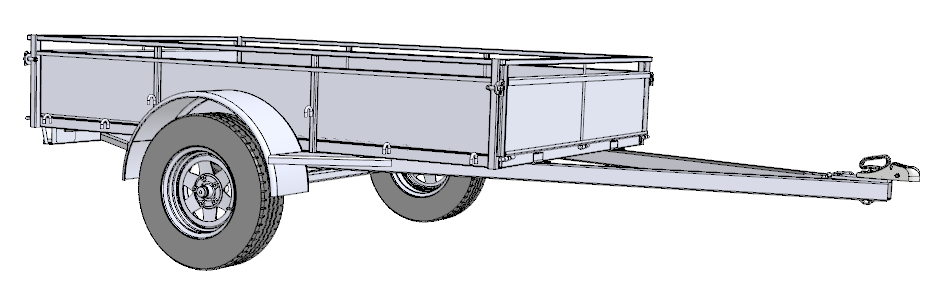 Single Axle Trailer Plans : Trailer sauce free plans
