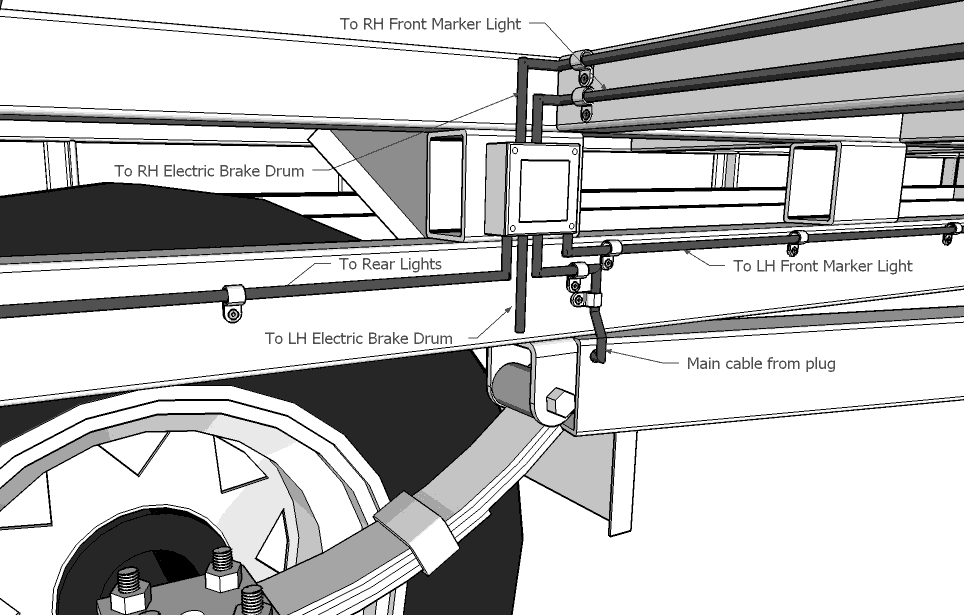 Lights Deck on 7 way trailer plug wiring diagram
