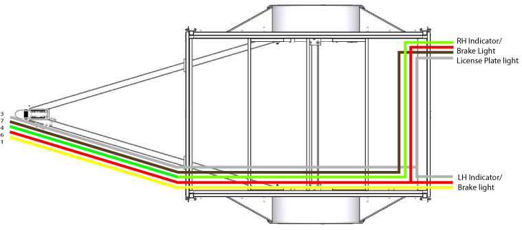 Wiring Diagram 5 Wire Trailer Lights